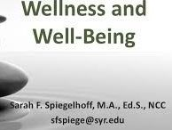 Wellness and Wellbeing / Wellness and wellbeing are not the same thing. Wellbeing refers to a more holistic whole-of-life experience, whereas wellness refers just to physical health.