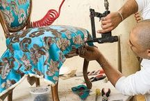 Upholstery / Really need to get into this! / by Becky Moran