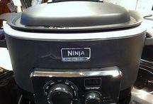 Ninja cooker recipes / by Dora Mershon