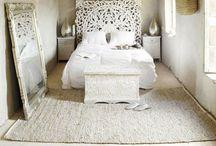 White bedroom / Like sleeping on a cloud / by Becky Moran