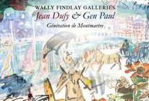 Génération de Montmartre: Jean Dufy & Gen Paul / Wally Findlay Galleries Palm Beach November 2014