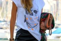Styled To The TEE / Outfit and Style Inspo featuring our favorite item - a TEE SHIRT!