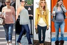 Trendy Moms-to-Be / Trendy and fashionable pregnant women....