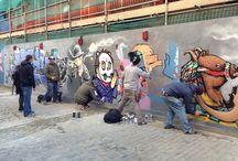 TURN LEFT / street art