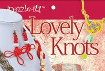 Lovely Knots / The Lovely Knots program from Dazzle-it features the ancient art of chinese knotting in samples and how-to projects.