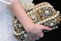 Pearls  / Pearls are available in so many shapes and colours!  The trend seems to be layering right now.