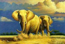 ART:  ELEPHANT / by june bug