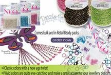 Neo Chain / Neo Chain is a wonderful new stringing material in the Dazzle-it collection of jewelry making products.