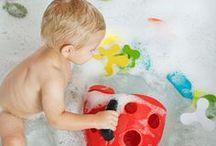 Para un delicioso baño! / Productos especiales que harán el momento del baño de tu bebé un momento único