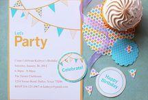 Birthday party ideas / Life's a party