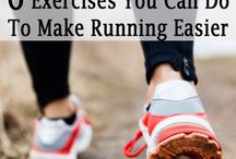 Running tips. / Running hints and tips to make it easier to keep fit and well.