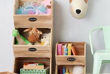 Toys storage idea