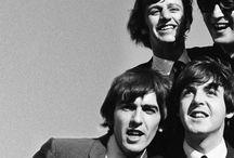 the beatles / John Lennon, Paul McCartney, George Harrison & Ringo Starr.  / by mardy bum.