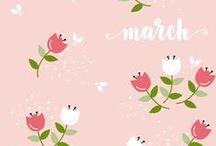 Free smartphone wallpaper by Le Petit Rabbit / Free iphone wallpaper designed by Le Petit Rabbit