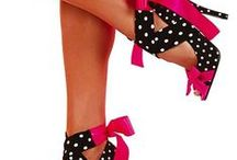 SHOE PASSION / A range of shoes: from those I covet to those I can't believe-a universe of footwear! / by Ellie