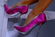 Beautiful shoes / A collection of miscellaneous types of shoes with one thing in common: I wish they were mine. / by Ellie