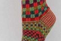 Sokken en Beenwarmers breien / Knitting socks leg stuf