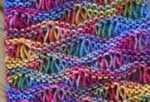 Sjaals en col breien / Knitting Scarfs