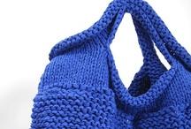 bags knitting / Tassen breien /
