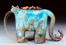 Pottery:  Animals