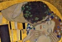 Art:  Klimt, Gustav / by Jean Cadman Smith