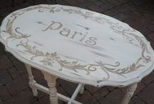Painted furniture & furniture makeovers / painted furniture and furniture make-overs. / by Ellie