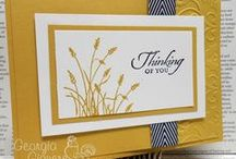 Stampin up cards / by Bonnie Maynard