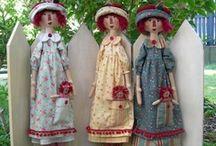 Dolls:  Cloth