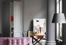 interiors / nteriors that i love that are stylish but welcoming, seductive and practical,