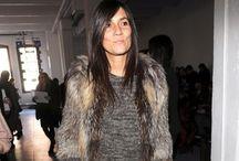 """EMMANUELLE ALT / """"I'll stop wearing black when they invent a darker color."""" - Emmanuelle Alt"""