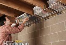 Garaż - organizacja, rozwiązania / Sprytne rozwiązania na porządek, oszczędność przestrzeni