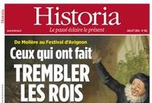 Historia / Les couvertures du magazine Historia à travers les siècles...