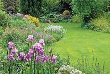 Lovely Large Gardens / With ample space, you can really craft your garden. These are some shots of large gardens we love!