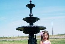 Cast Water Fountain and Garden Planters / Cast iron flower planters and cast aluminum water features that will last forever.