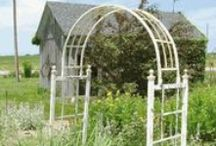 Garden Arbors and Gazebos / These are nice iron arbors for your back yard or entrance to your garden
