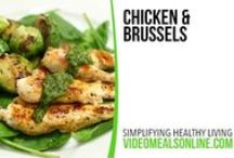 Video Recipes / Quick, simple, and healthy video recipes presented in 15 seconds or less.