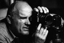 Peter Lindbergh / Photographer and Filmmaker, love his work for Vogue and his Portraits.