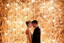 Light Outdoor Wedding / Beautiful Of Wedding Lighting Outdoor,The outdoor wedding lights look like fairy !