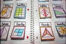 Fractions / Ideas to teach fractions using games and fun activities