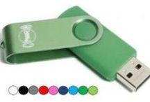 USB-Sticks / Allerlei USB-sticks met de mogelijkheid om te bedrukken met je eigen tekst of logo!