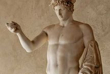 Antique Statuary: Hermes