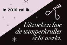 Beautyvoornemens 2016 / Wat wordt jouw voornemen voor het nieuwe jaar?