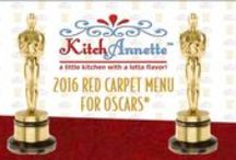 2016 Red Carpet Menu for Oscars®! / The 2016 Best Picture Nominations for the Academy Awards® have been reimagined for this year's #RedCarpetMenu!