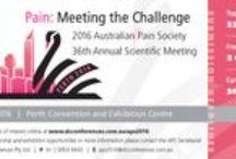 APS Conference 2016 / Australian Pain Society Annual Scientific Meeting, Perth, WA