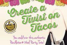 #TwistOnTacos / Delicious recipes with La Tortilla Factory