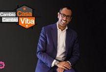 """""""Cambio casa, cambio vita!"""" / Immagini dal famoso programma TV  con l'interior designer Andrea Castrignano - Moments from the famous TV Show with interior designer Andrea Castrignano."""