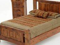 Wood bed / Fa ágy