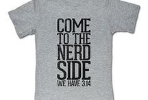 Come to the nerd side... we have 3.14 / by Brian lewis