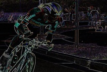 Gifts for Cycling Lovers / Cycling Art for those that LOVE riding, watching the Tour de France or like abstract art.