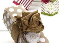 Gift boxes and packaging / Make a gift even more special by creating and/or decorating boxes, bags, etc.